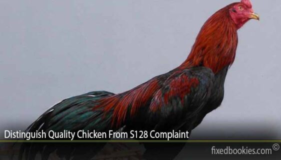 Distinguish Quality Chicken From S128 Complaint