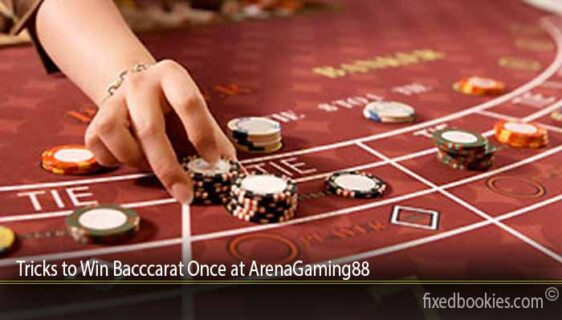 Tricks to Win Bacccarat Once at ArenaGaming88